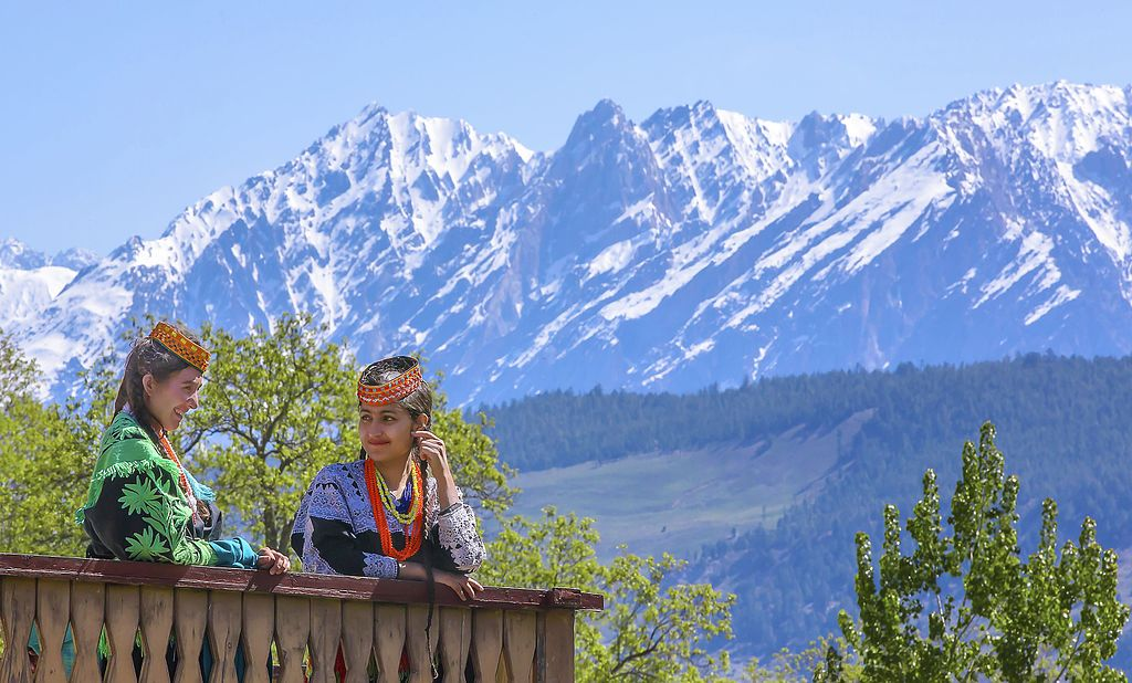 The three remote valleys are home to the animist Kalash people - All about Kalash Valley