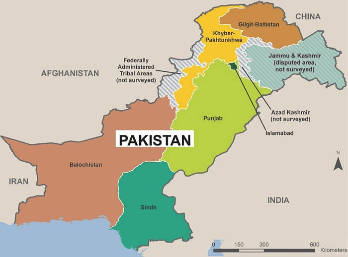 geography of pakistan 1 - Landscape, Location And Geography of Pakistan
