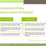 Pakistan  Investment Policy